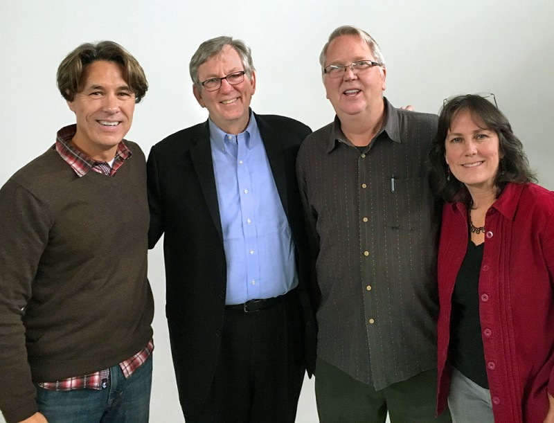 ASMP Tucson President Tom Spitz, ASMP national Exec. Dir. Tom Kennedy, ASMP Tucson Treasurer Thomas Veneklasen and ASMP Secretary Martha Lochert
